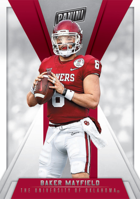 Panini America National VIP Baker Mayfield