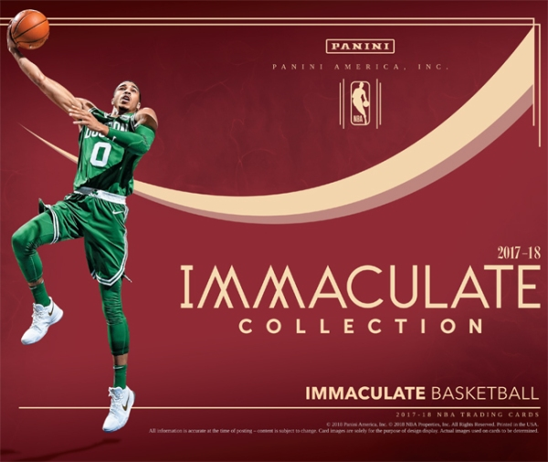 2017-18 Panini Immaculate Basketball