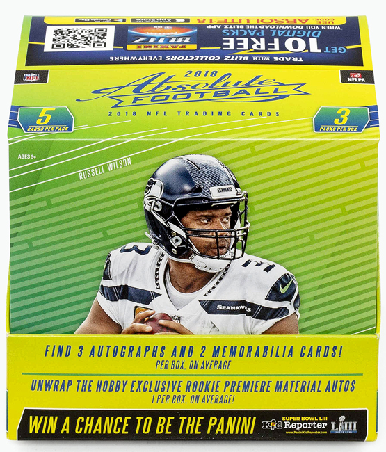 Panini America 2018 Absolute Football QC Gallery1a