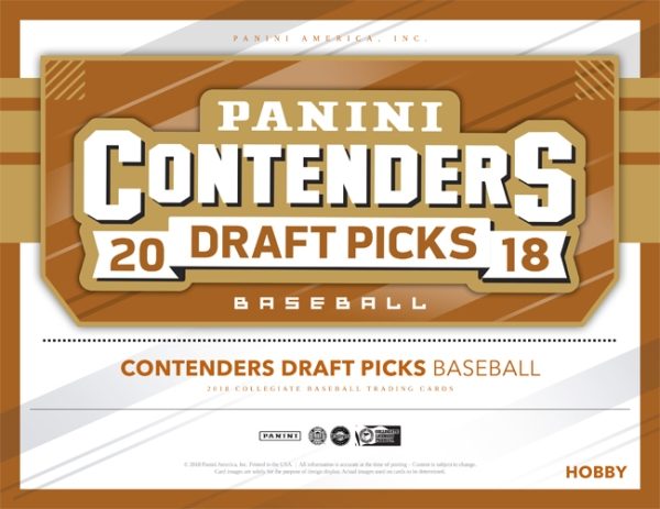 Panini America 2018 Contenders Draft Picks Basketball Main