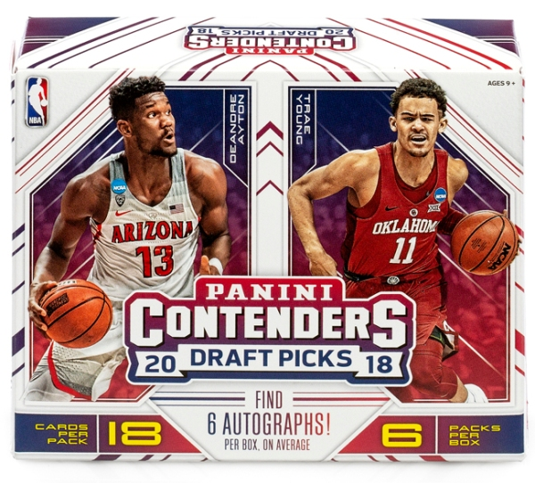 Panini America 2018 Contenders Draft Picks Basketball QC1