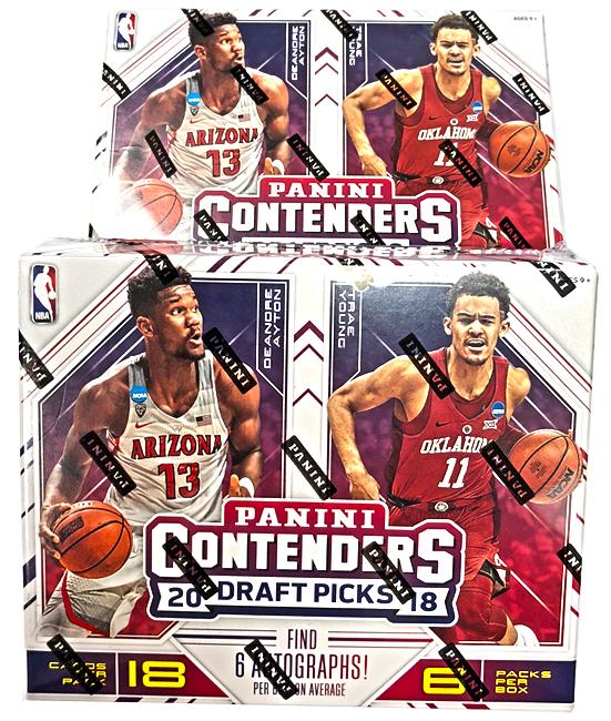 Panini America 2018 Contenders Draft Picks Basketball Teaser2