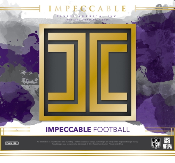Panini America 2018 Impeccable Football Main