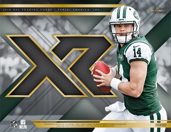 Panini America 2018 XR Football Main