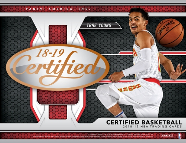 Panini America 2018-19 Certified Basketball Main