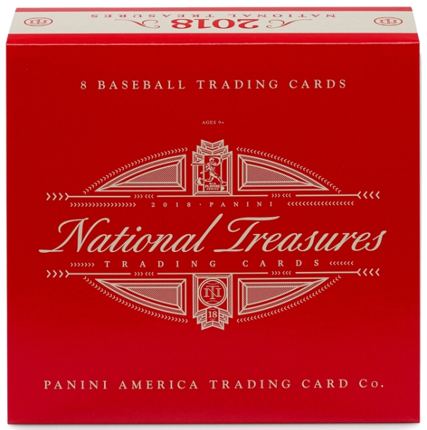 Panini America 2018 National Treasures Baseball QC1