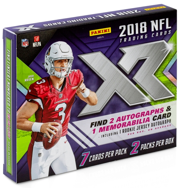 Panini America 2018 XR Football QC2