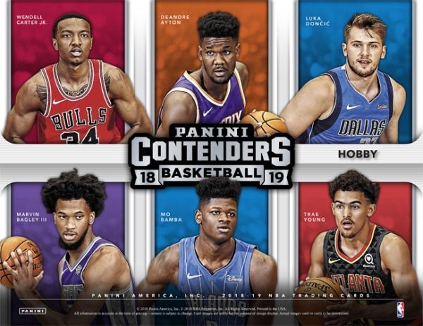 Panini America 2018-19 Contenders Basketball Main