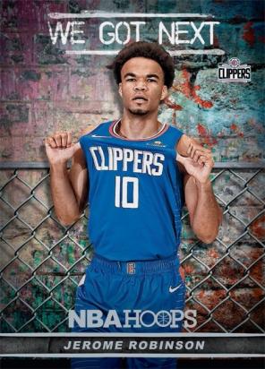 Panini America 2018-19 NBA Hoops We Got Next 13