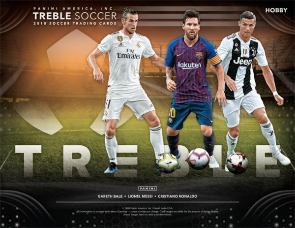 Panini America 2018-19 Treble Soccer Main