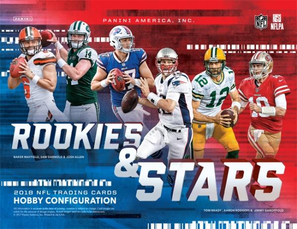 Panini America 2018 Rookies & Stars Football Main