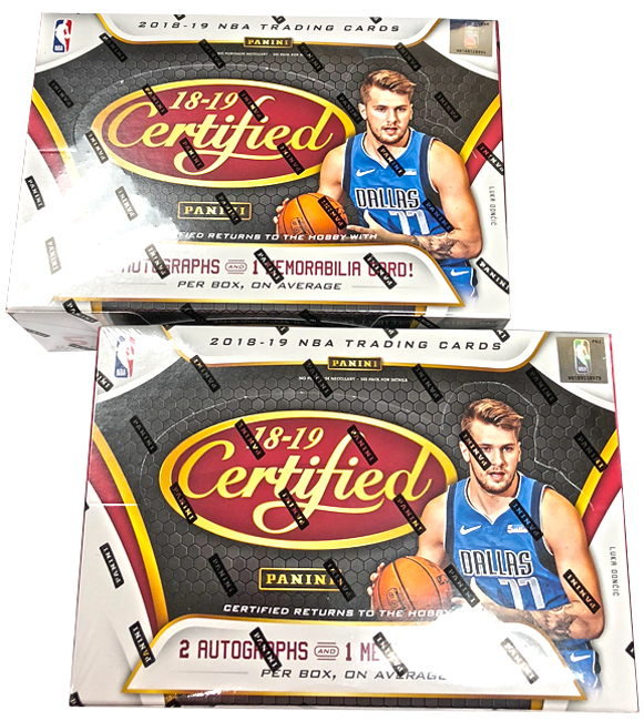 Panini America 2018-19 Certified Basketball Teaser3 6bf94447a