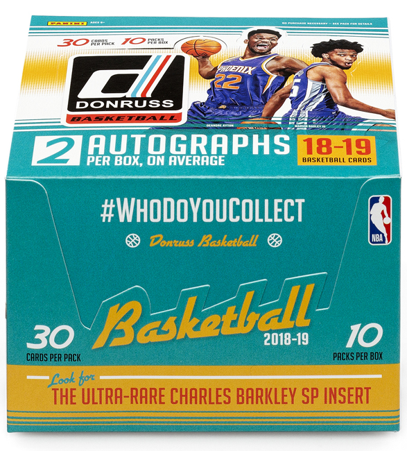 Panini America 2018-19 Donruss Basketball QC1