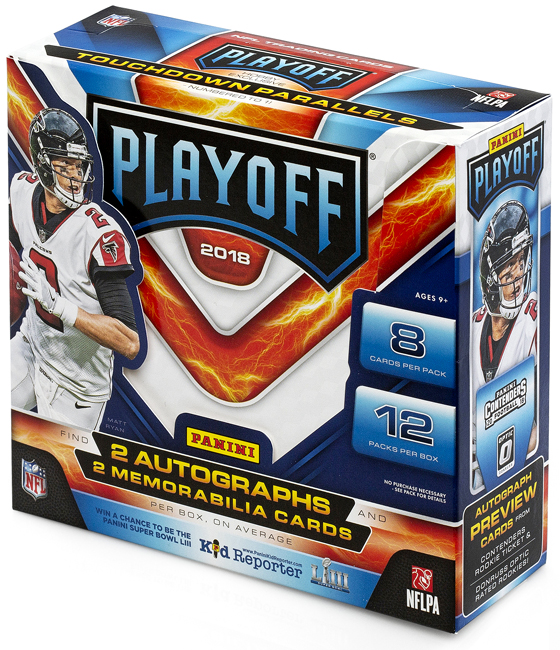 Panini America 2018 Playoff Football QC2