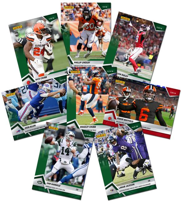 Panini America NFL Instant Rookies