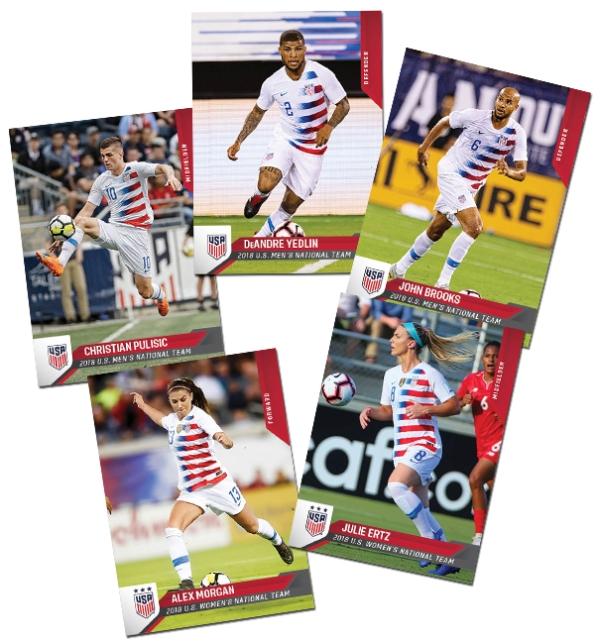 Panini America 2018 U.S. Soccer Box Set Main