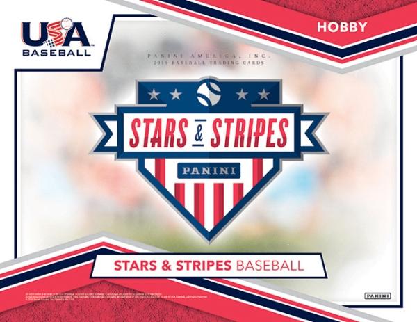 Panini America 2019 Stars & Stripes USA Baseball Main