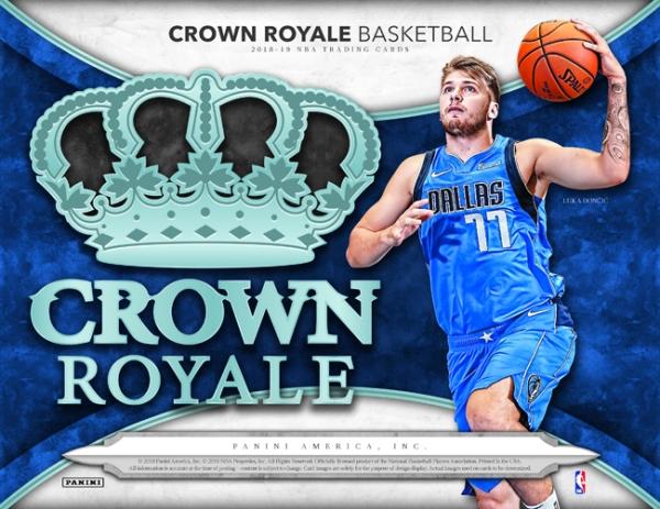 Panini America 2018-19 Crown Royale Basketball Main