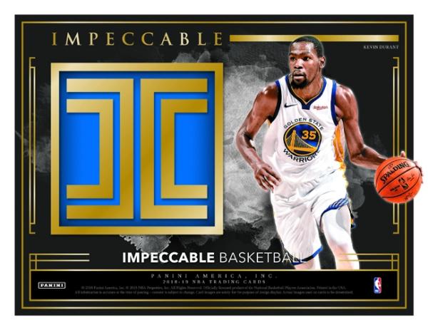 Panini America 2018-19 Impeccable Basketball Main