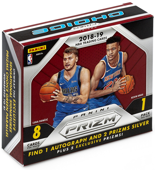 Panini America 2018-19 Prizm Choice Box 1