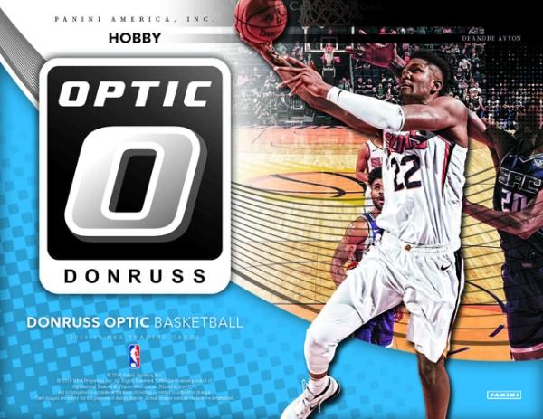 Panini America 2018 Donruss Optic Basketball Main