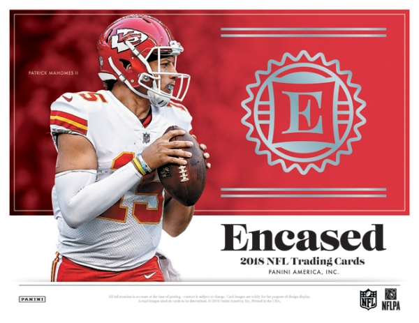 Panini America 2018 Encased Football Main