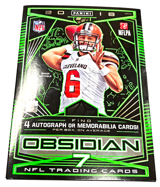 Panini America 2018 Obsidian Football QC Gallery1