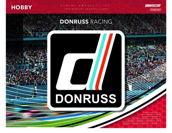 Panini America 2019 Donruss NASCAR Racing Main