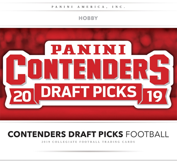 Panini America 2019 Contenders Draft Picks Football Main